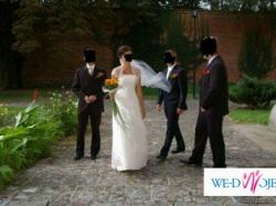 Raz używana piękna suknia ślubna