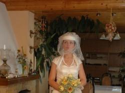Retro suknia ślubna dla WYSOKIEJ dziewczyny