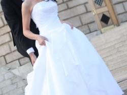 Romantyczna i delikatna suknia ślubna White Rose
