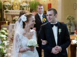 Romantyczna koronkowa suknia ślubna - La Sposa Sala 34/36 pilnie sprzedam