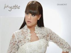 Romantyczna Sukienka Ślubna Mystic Diamont 2009 - rozm. 36/38