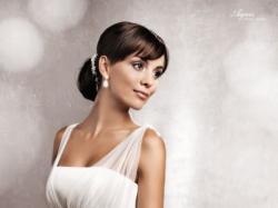 Romantyczna suknia ślubna Agnes 11328 N-38 roz. 34/36