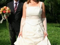 romantyczna suknia  ślubna ALKYONE