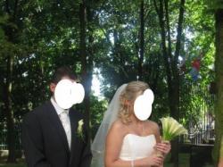 Romantyczna suknia ślubna Cosmobella- rozm 40