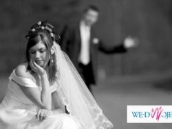 Romantyczna suknia ślubna dla filigranowej osóbki