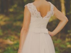 ROMANTYCZNA suknia ślubna do sprzedania