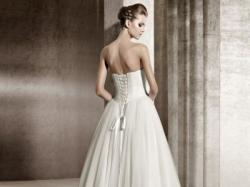 Romantyczna suknia ślubna Jaspe, Pronovias 2012