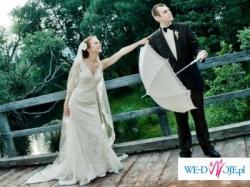 Romantyczna suknia ślubna - La Sposa Sala 34/36 pilnie sprzedam