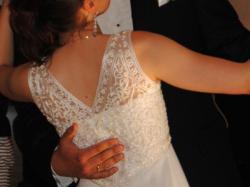Romantyczna suknia ślubna S