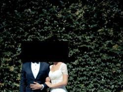 Romantyczna suknia ślubna w stylu greckim