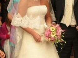 Romantyczna suknia ślubna z Francji