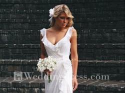 romantyczna, zwiewna, cudowna sukienka ślubna