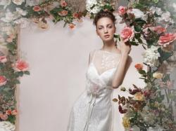 Romantyczne suknie ślubne z kolekcji Papilio 2012
