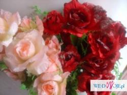Róże do dekoracji samochodu