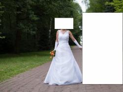 rozm. 36-38 Szczęśliwa Suknia Ślubna z 2016 roku
