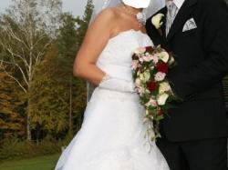rozm 42/44!!! suknia ślubna