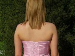 Różowa suknia wieczorowa-jako nowa - rozmiar 40