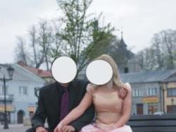 różowa suknia z salonu mody ślubnej
