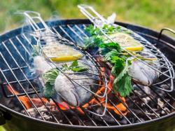 Ryby z cytryną z grilla - przepis