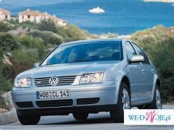 samochód do ślubu Vw BORA 2,3 V5 4-motion