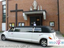 Samochody do ślubu,limuzyny,zabytkowe auta,Excalibur,chrysler limuzyna