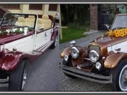 Samochody do ślubu zabytek Cabriolet Retro Replika
