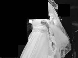 Satynowa Suknia ślubna 38 40