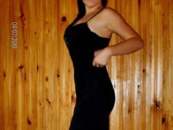 seksowna czarna sukienka