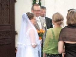 seksowna  koronkowa biała  suknia slubna 36/38