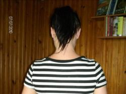 seksowna koszulka w paseczki