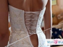 Seksowna suknia w stylu hiszpańskim