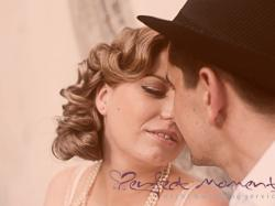 Sesja przedślubna w stylu retro