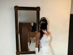 SEXY niepowtarzalna suknia ślubna FARAGE Galaxy rozm. 36/38