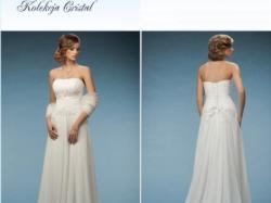 Sexy, piękna i wygodna suknia ślubna Nefretete, styl empire - grecki.