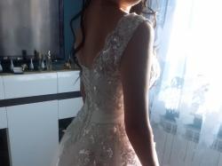 Siedlce suknia ślubna 38-40-42 175 cm+ 8 cm