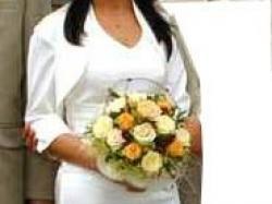 Skromna Piękna suknia ślubna