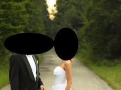 skromna suknia ślubna NET