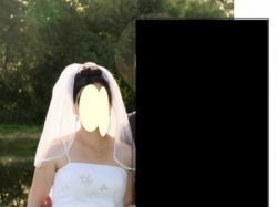 skromna suknienka ślubna