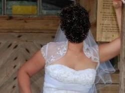 Śliczna biała suknia ANNAIS BRIDAL Carrera 38-40