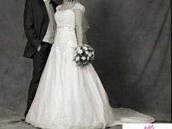 śliczna biała suknia Herms Kedane + Wczasy