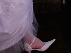 Śliczna biała suknia ślubna rozm. 36/38