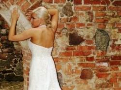 śliczna biała suknia ślubna rozmiar 38- Marika z salonu Gala