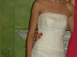 Śliczna, delikatna suknia ślubna Atelier Diagonal 310, TANIO!!!
