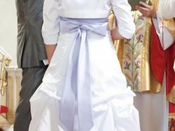 śliczna francuska suknia ślubna 2011