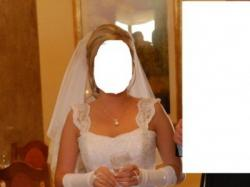 Śliczna i elegancka suknia ślubna