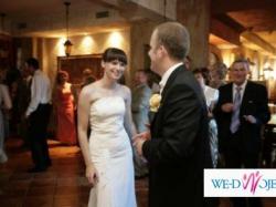 Śliczna i oryginalna sukienka ślubna z salonu Agnes