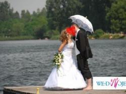Śliczna i tania suknia ślubna