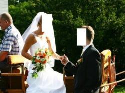 Śliczna i wyjątkowa suknia ślubna z dodatkami!!!