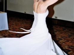 Śliczna Irlandzka skuknia ślubna