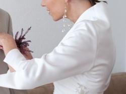 Śliczna - jedyna w swoim rodzaju! Jednoczęściowa, biała suknia ślubna